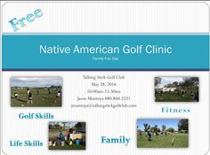 Native American Golf Clinic May 28th come enjoy some golf in the morning before you start the BBQ. Family Fun Day at @talking_stickgc  #Free #Golf #growthegame #scottsdalegolf #GolfNative #Nativestrong #PGA #Nike #NikeN7 #GolfandGrow #AZGolf