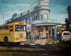 Salt Riviera - Oil on Canvas - Artist: Andrew Owen