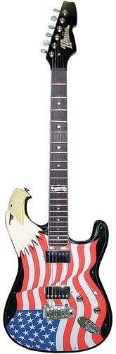 Bald eagle electric guitar