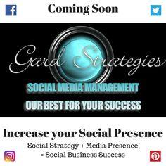 Gard Strategies - social media management and coaching, social media presence, marketing strategy