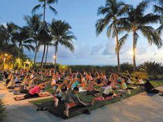 The classes are held on Moana Surfrider's Diamond Head Lawn, where the wine also is served