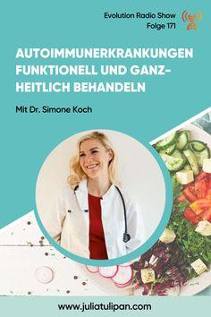 Dr. Simone Koch erklärt in diesem Interview, welche Rolle der Darm, und vor allem das Leaky-gut Syndrom, bei der Entstehung von Autoimmunerkrankungen hat und warum betroffene unbedingt Zucker, Getreide und Kohlenhydrate meiden sollten. Stress Management, Evolution, Leaky Gut, Asthma, Interview, Biology, Medicine, Fall Asleep Fast, Paleo Food