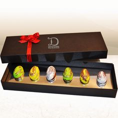 Easter delight hamper gifts pinterest hamper easter gift an easter gift box filled with 6 hand made chocolate eggs filled with a delicious chocolate negle Image collections