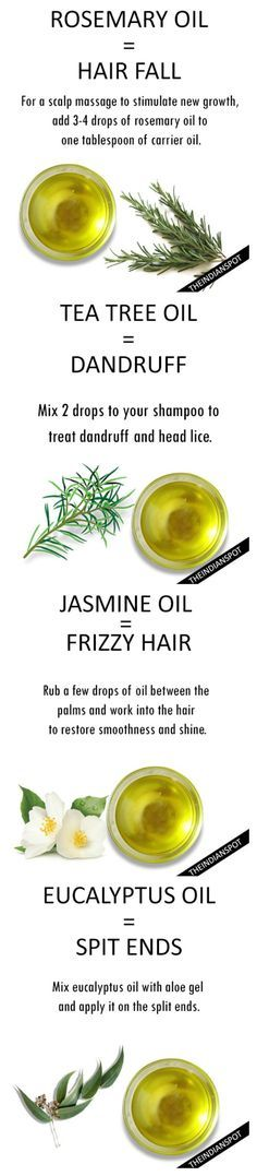 DIY Recipes for a multiple of hair problems.