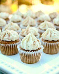 Chai tea latte muffins are delicious!