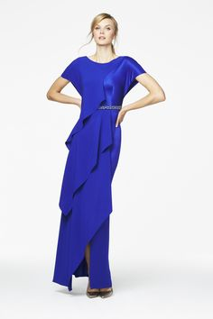 f8134a3bd2f An elegant dress by Daymor for a mother of the bride