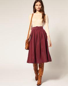 Cute skirt, not too short!