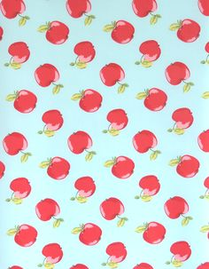 z. SAMPLE Oilcloth Fabric Apples Seafoam Home Sew, Oilcloth, Fabric Samples, Sea Foam, Different Fabrics, Vintage Inspired, Sewing Projects, Cotton Fabric, Delicate