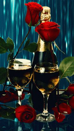 Holiday Party Discover Rose And Champagne Gif animation romantic rose gifs champagne Beautiful Gif Beautiful Pictures Animation Foto Glitter Graphics Gif Pictures Happy Anniversary Happy Valentines Day Animated Gif