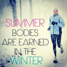 So true!!  If you need a fun winter busting workout join me for a Zumba Class.  It may be cold outside but it will be SIZZLING in class with some HOT Latin music and rhythms.  Complete schedule at whitleyfit.com