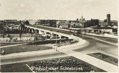 Rozenlaanviaduct  naar Schiebroek