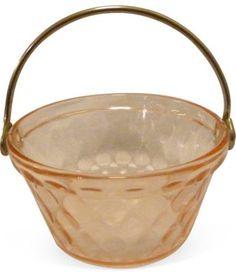 I want it -- pink carnival glass.