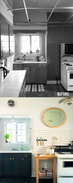 Before and After: Kitchen Renovation by Manhattan Nest