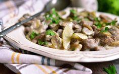 Keto Beef Stroganoff Recipe Healthy Smoothies, Healthy Drinks, Healthy Eating, Smoothie Recipes, Keto Meal Plan, Diet Meal Plans, Meal Prep, Macros Dieta, Cobb