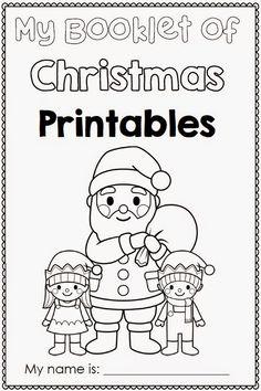 Christmas Printables for any Word List