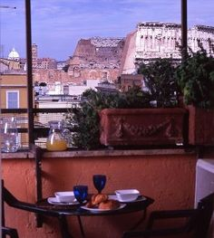 Rome.  VRBO.com #98883 - Small Apartment with Stunning View Over the Colosseum