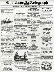 newsprint sandwich wrap paper.