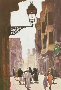 vintagenatgeographic: Oriental Quarter of Cairo, Egypt National Geographic | April 1940