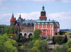 Książ  is a castle in Wałbrzych in Lower Silesian Voivodeship, Poland. It was built in 1288-1292 under Bolko I the Strict.