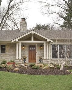 Ranch House Makeover Photo Homes The Interior And Exterior Was Simple