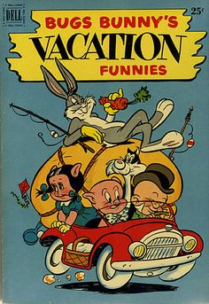 CB-29 Bugs Bunny and the Gang Vintage Comic Book Posters | Flickr