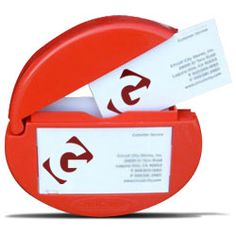 Card Caddie Business Card Holder