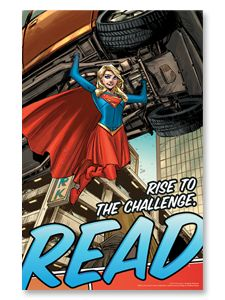 Library Themes, Library Book Displays, Library Posters, Reading Posters, Library Activities, Library Ideas, Reading Books, Guided Reading, Supergirl