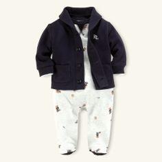 Ralph Lauren baby boy clothing- cute :)