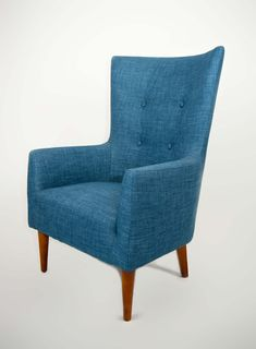 The perfect companion for hi back comfort with arms and fully sprung seat. Emerald Blue, Commercial Furniture, Wingback Chair, Armchairs, Design Your Own, Accent Chairs, Arms, Lounge, Room