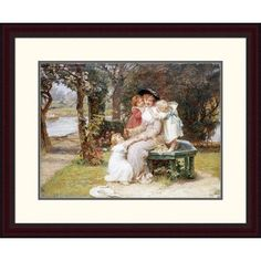 Global Gallery 'Me Too?' by Frederick Morgan Framed Painting Print Size: