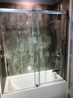 Simon's Bath Showroom in Plymouth, MA is displaying the Kent tub from our skirted collection. They have paired with a Fleurco shower door and Fibo walls. Bath Showroom, New Bedford, Fall River, Shower Doors, Plymouth, Plumbing, Bathtub, Walls, Display