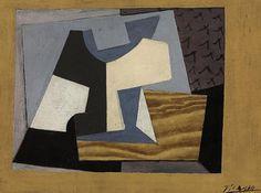 Pablo Picasso (1881-1973) Nature morte au compotier, 1919-1920. 24.2 x 33 cm.