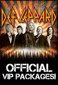 Def Leppard -Cursed or not , they just keep on Rockin'!