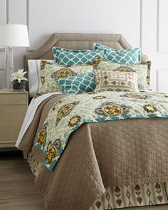 "Jane Wilner Designs ""Malabar"" Bed Linens... if only the shams weren't $392. :("