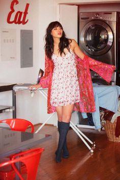 Inspiration Never Sleeps: the diary of a rockstar off duty. ThreadSence Fall 2013 Lookbook starring Natalie Suarez of Natalie Off Duty.