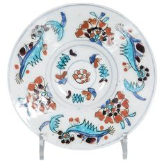 Kuyahiya Plate | From a unique collection of antique and modern pottery at http://www.1stdibs.com/furniture/dining-entertaining/pottery/