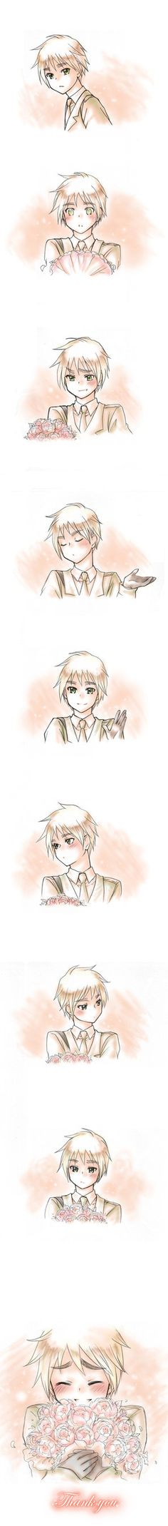 aph england 'thank you' by mikitaka SEE OTHER PICS ON PAGE