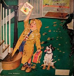 """""""Mother day"""". Dick Sargent (1911 – 1978), American illustrator."""