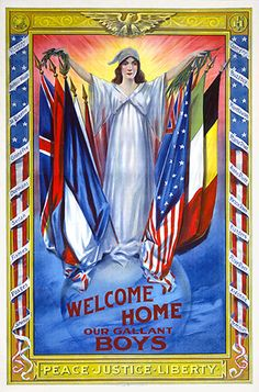 World War I - Peace, Justice, Liberty at home