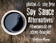 Gluten and soy free soy sauce alternative recipes