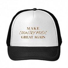 BlackShel Adult Or Youth Make Country Music Great Again Baseball Cap Snapback Hat Summer Hat