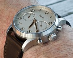 Cool Watches, Rolex Watches, Watches For Men, Stowa, Father Time, Pocket Watches, Watch Faces, Mechanical Watch, Chronograph