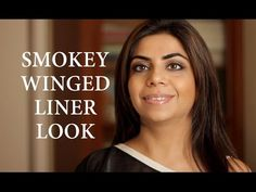 Smokey Winged Liner Look