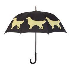 The Dog Park Walkign Stick Umbrella: Golden Retriever Dog Silhouette Walking In The Rain, Dog Walking, Dogs Golden Retriever, Retriever Dog, Golden Retrievers, Dog Umbrella, Dog Silhouette, Dog Park, Dog Owners