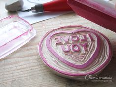 Hand-Carved Stamps Tutorial - Transferring and Carving Your Design #handcarvedstamps