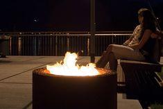Outdoor Firepit Mangiafuoco | AK47 | #basileek #brasero #feu #exterieur #jardin #terrasse #ak47