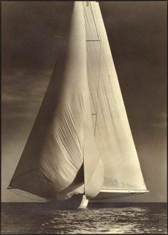"Margareth Bourke-White-""Vanitie"" International Yacht Races,Newport,Rhode Island,1934"