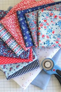 Carnaby Collection from Liberty Quilting Cottons Liberty Of London Fabric, Liberty Fabric, Liberty Quilt, Quilting Tutorials, Quilting Projects, Sewing Projects, Pattern Blocks, Quilt Patterns, Picnic Quilt