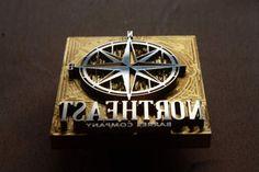 Custom Logo Branding Iron made of brass  DHL worldwide by vonHanke