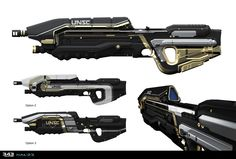 ArtStation - Weapon Skins for Halo 5 Guardians, Sam Brown